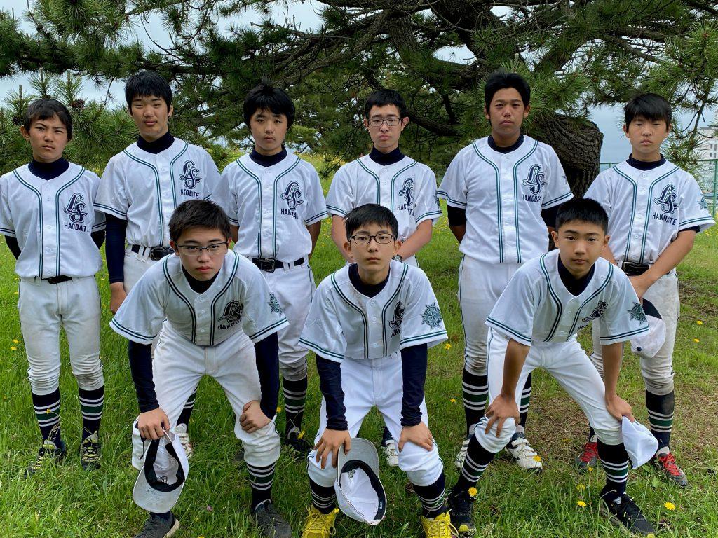 中学野球部2021